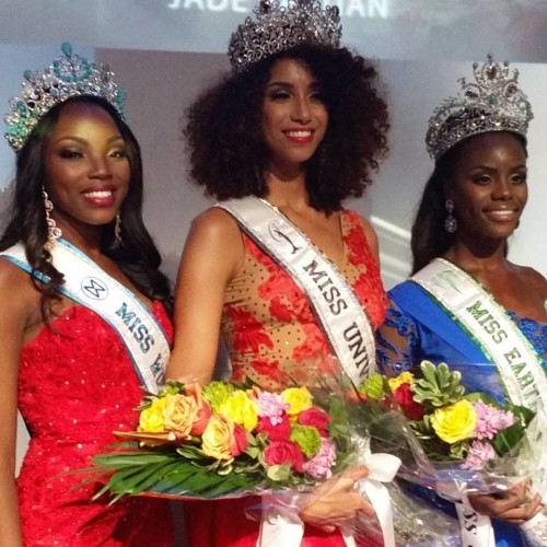 Miss Bahamas 2015: Miss Universe Bahamas Toria Penn, Miss World Chantel O'Brian and Miss Earth Darronique Young!