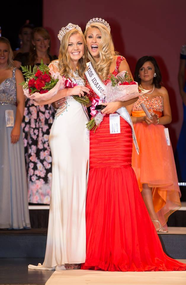 Miss Idaho USA Sydney Halper, Miss Idaho Teen USA Kate Pekuri