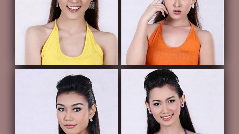 Miss Universe Myanmar 2015-2016 contestants