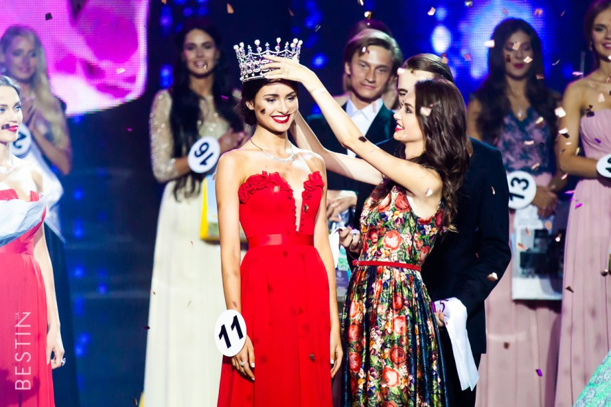 Miss World Ukraine 2015-Khrystyna Stoloka