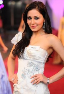 Miss India World Pooja Chopra