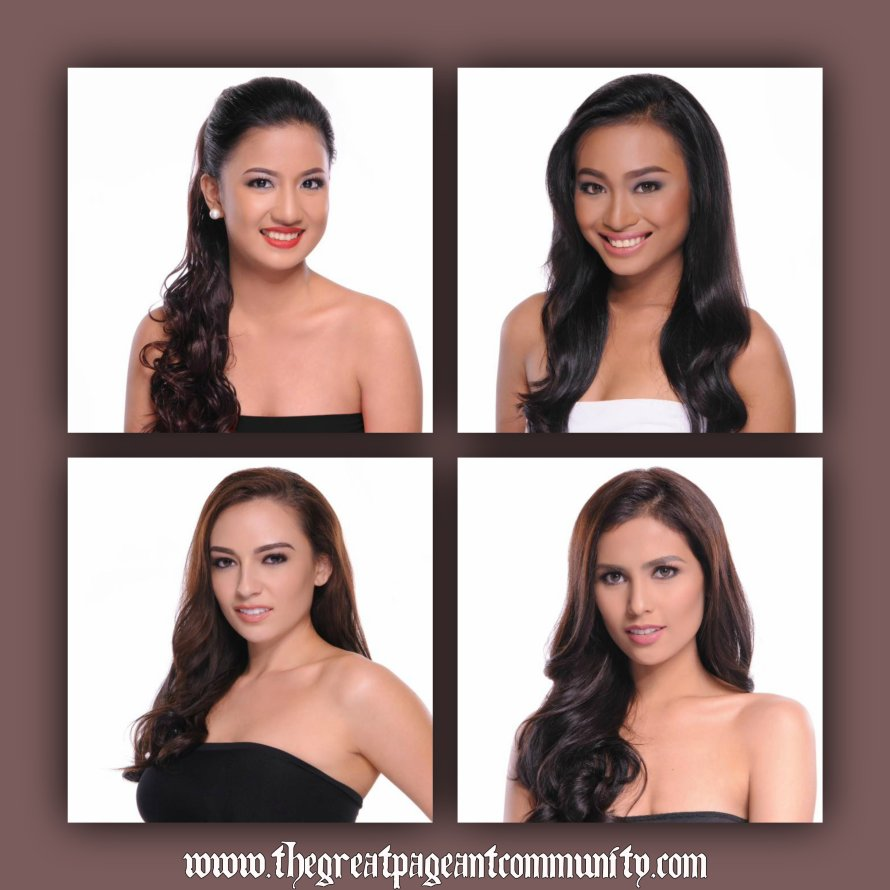 Miss World Philippines 2015 Official Head shots