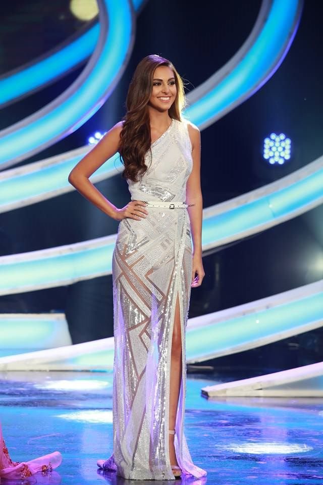 Miss Lebanon 2015 -Valerie Abou Chacra looks stunning in Zuhair Murad Gown