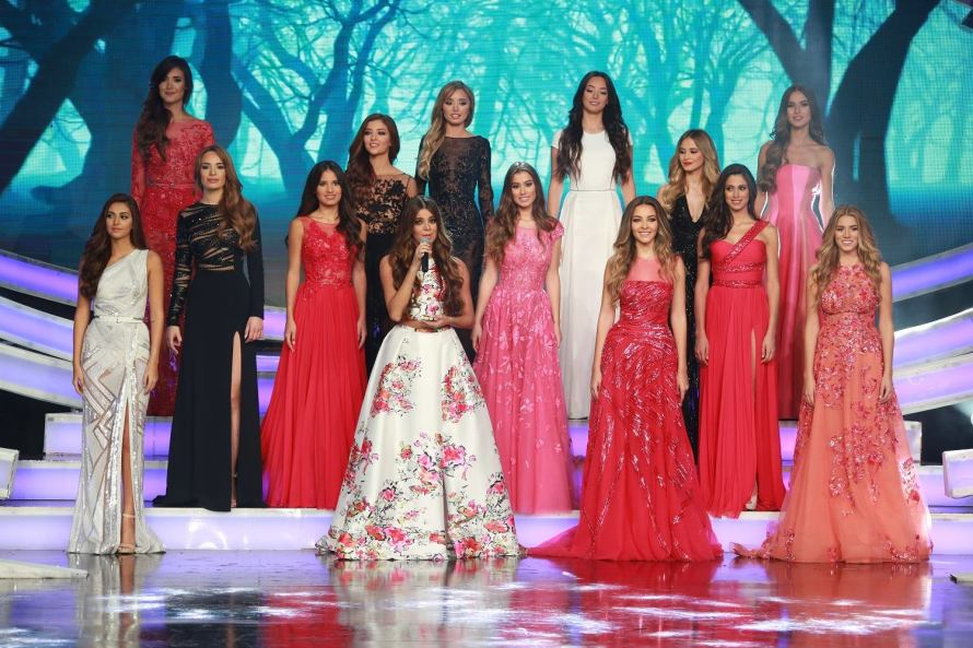 Miss Lebanon 2015 Contestants in Zuhair Murad Gowns