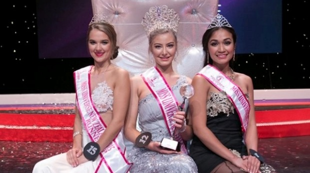 Samantha McClung is Miss Universe New Zealand 2015