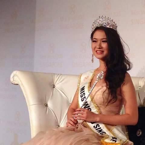Charity Lu Lu Seng crowned Miss World Singapore 2015