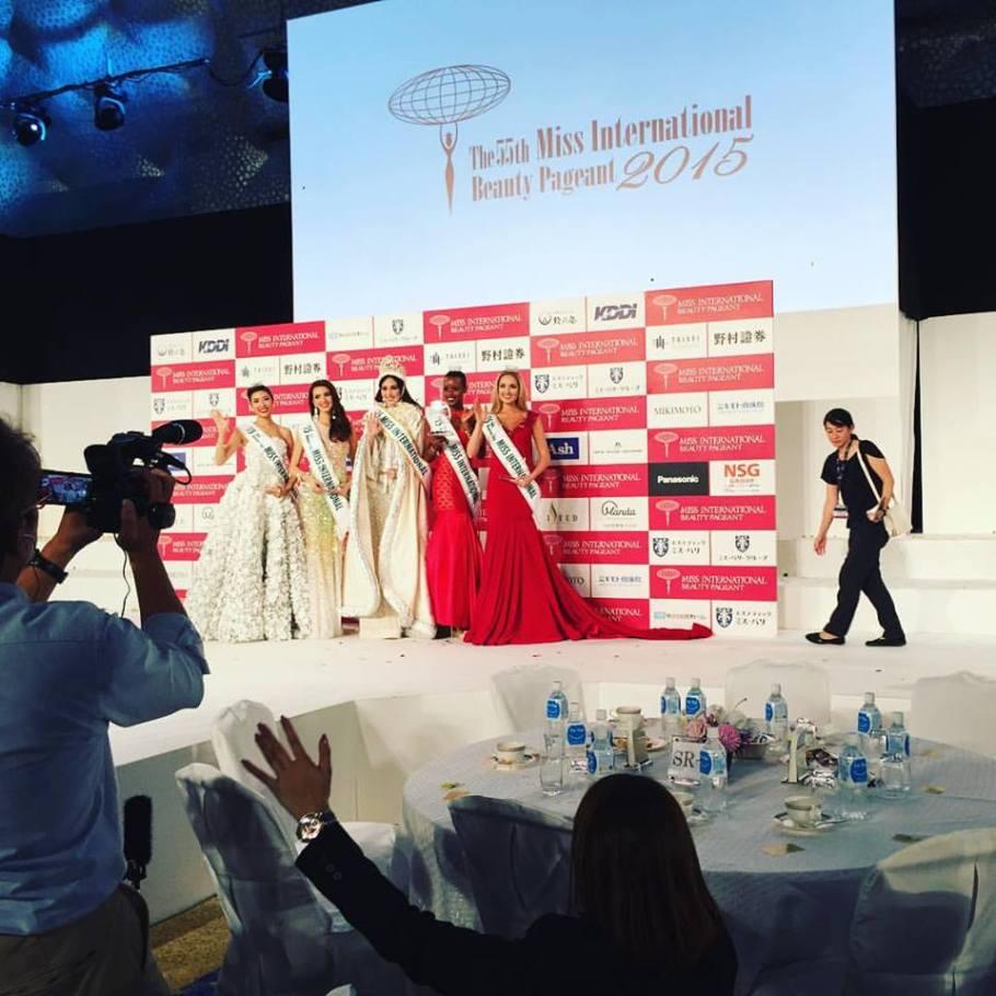Edymar Martinez of Venezuela wins Miss International 2015