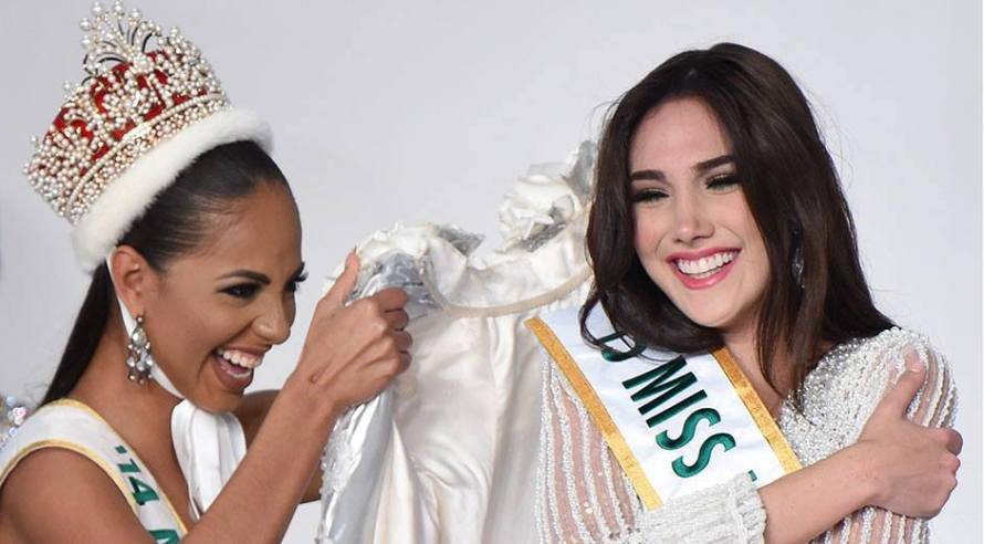 Edymar Martinez of Venezuela wins Miss International 2015