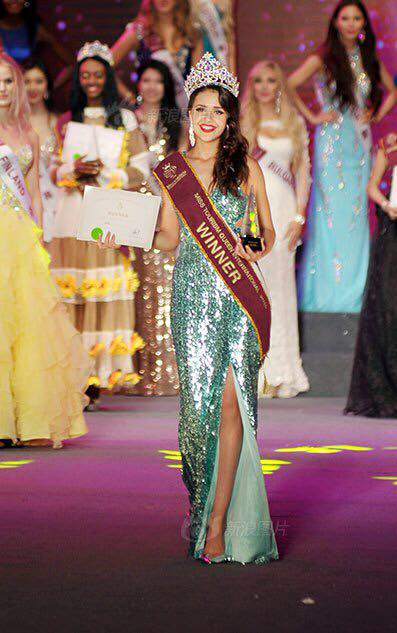 Nathalie Mogbelzada is Miss Tourism Queen international 2015