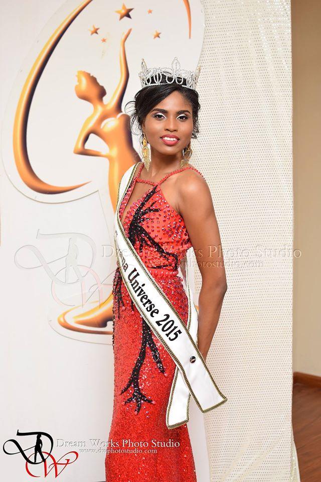 Shauna Ramdyhan is Miss Guyana Universe 2015