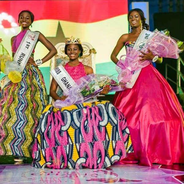 Antoinette Kelali Kemavor is Miss Ghana 2015
