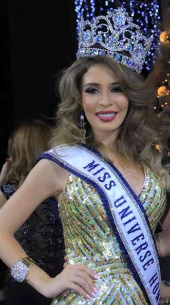 Iroshka Elvir is Miss Universe Honduras 2015