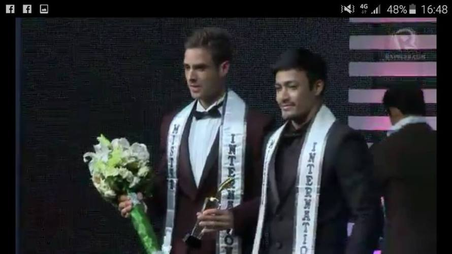 Pedro Mendes wins Mister International 2015