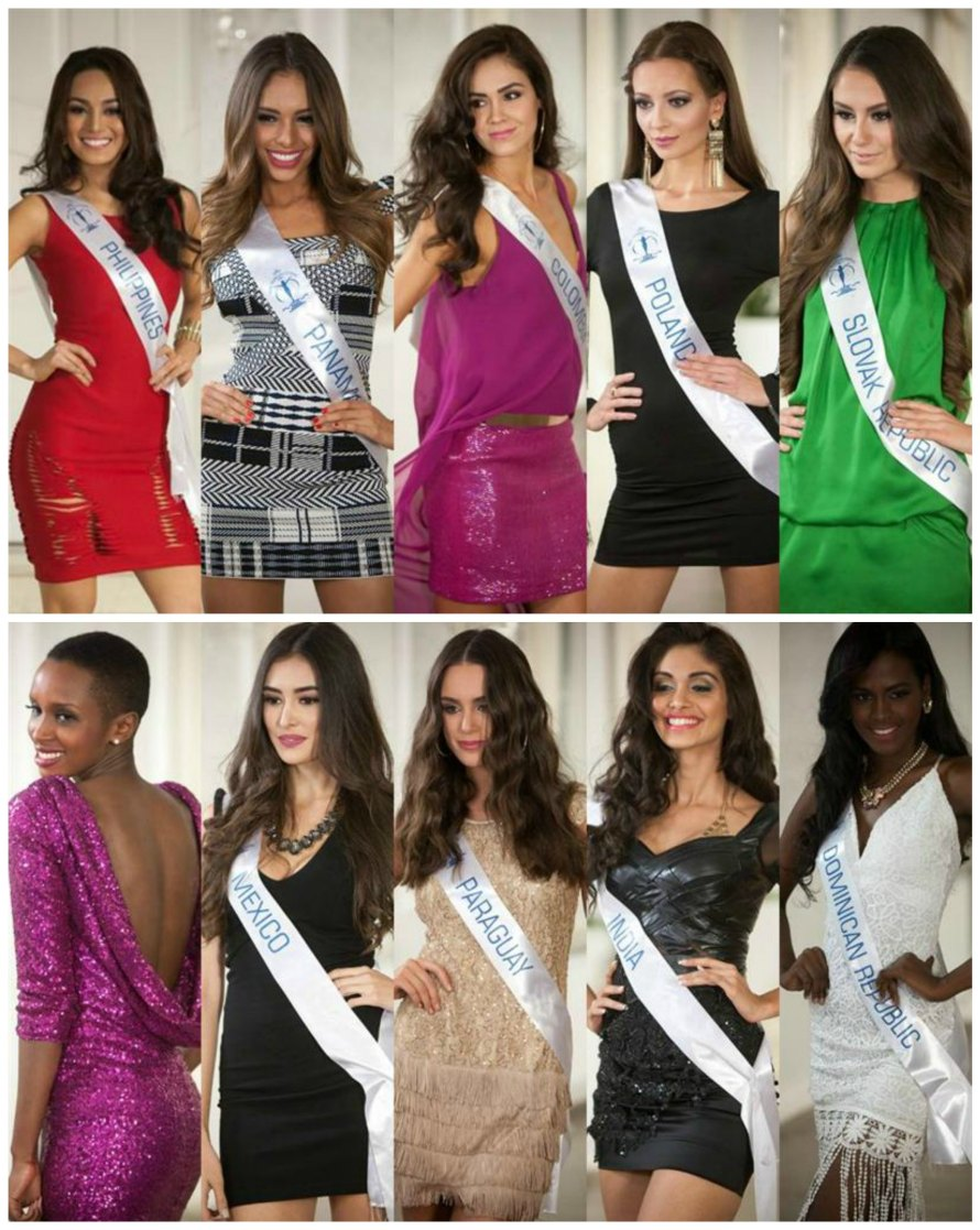 Top 10 finalists of Miss Supranational 2015 Top Model