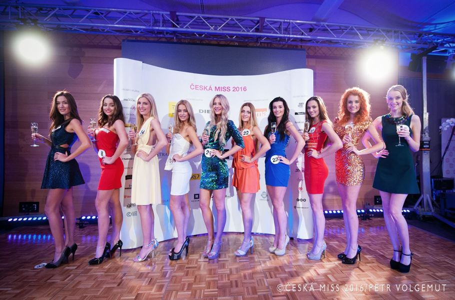 Meet the contestants of Česká Miss 2016