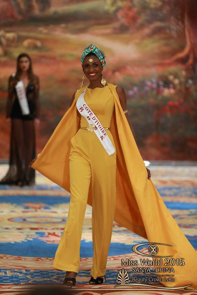 Miss World Top Model Award : Top 30.