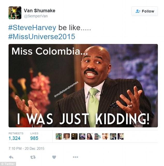 Miss Universe 2015 fiasco