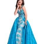 Miss El Salvador-Fatima Rivas during Miss Universe 2015 evening gown portrai