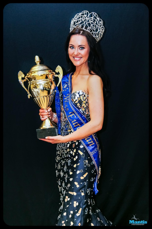 Emma Franklin from Wales crowned Miss European 2015