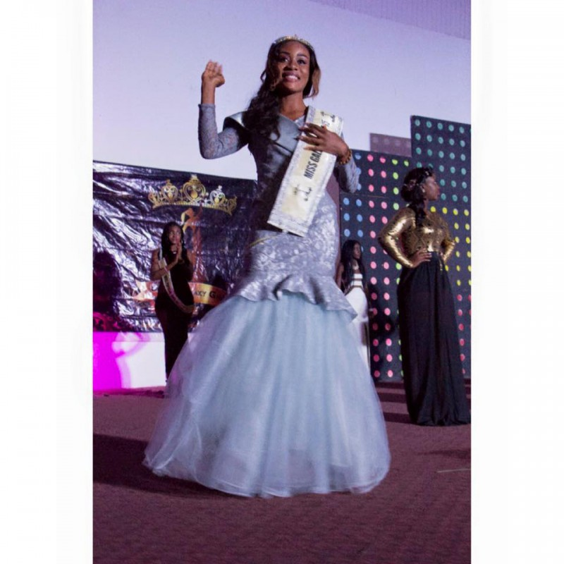 Cassandra Karikari Crowned Miss Galaxy Ghana 2015