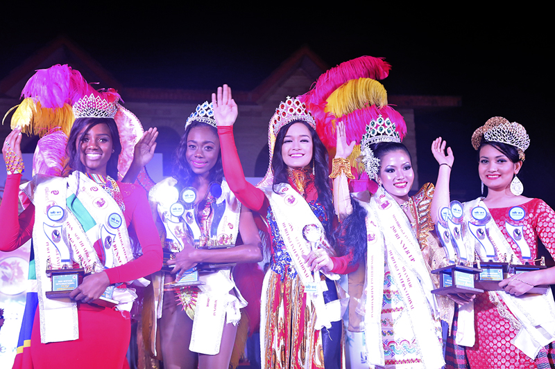 Victoria Pham from Vietnam crowned Miss Heritage International 2015