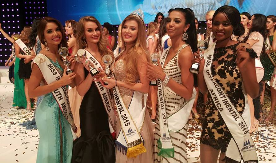 Valentina Rasulova from Russia is Miss Intercontinental 2015
