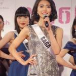 Natsuki Saito is representing Saga at Miss Universe Japan 2016