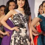 Rino Tanaka is representing Shimane at Miss Universe Japan 2016