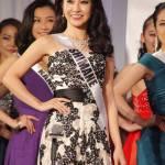 Rino Tanaka is representing Shimane at Miss Universe Japan 2016