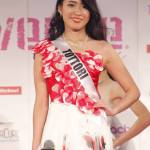 Mina Aoyama is representing Tottori at Miss Universe Japan 2016