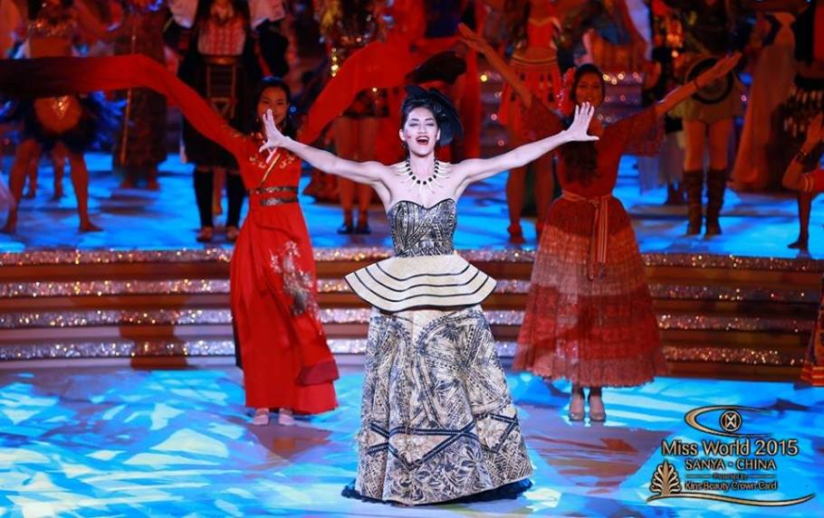 Dances of the world in Miss World 2015 finals