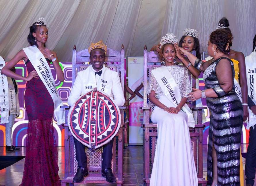 Roshanara Ebrahim crowned Miss World Kenya 2016