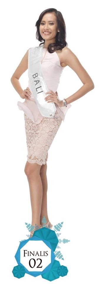 Sukma Astiti is representing BALI at Miss Indonesia 2016