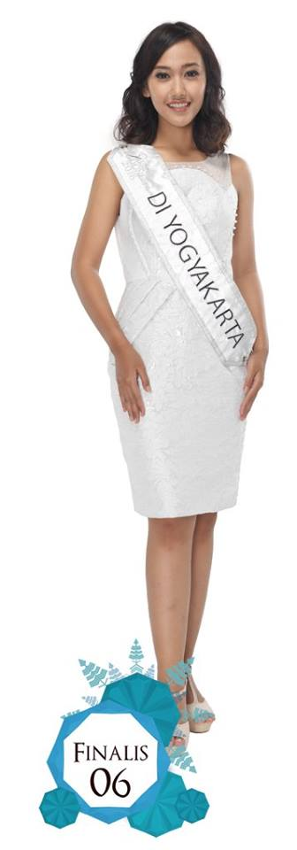 Shidna Takhiya Anissa  is representing  DI YOGYAKARTA at Miss Indonesia 2016