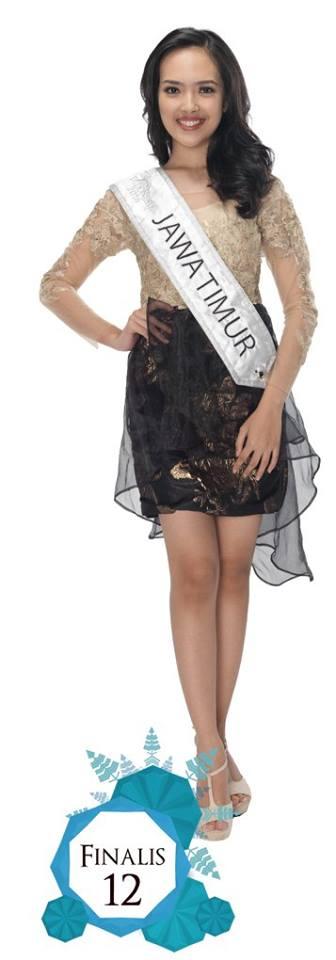 Venezia Indra Ghassani  is representING JAWA TIMUR at Miss Indonesia 2016
