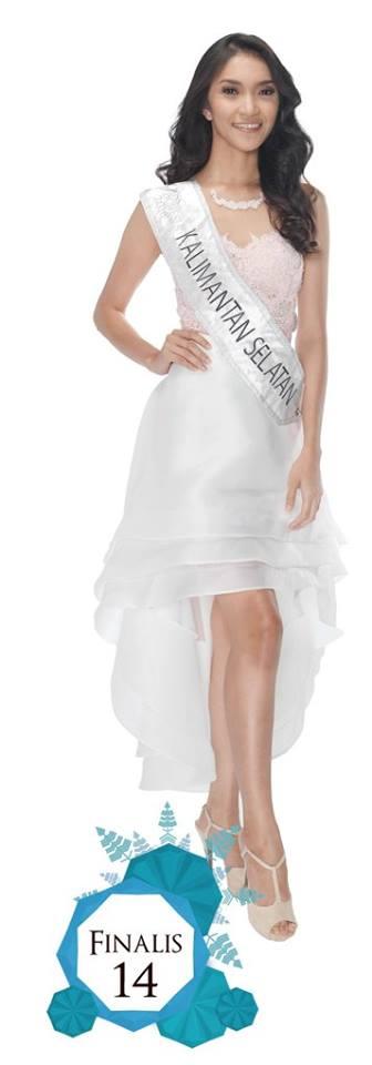 Herrawati is representing KALIMANTAN SELATAN  at Miss Indonesia 2016