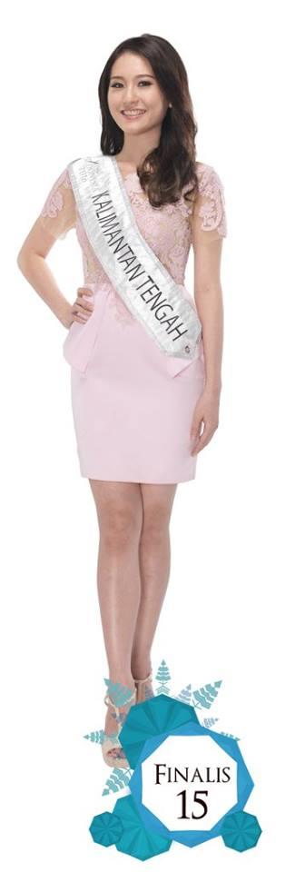 Ellen Gracia Natalia is representing Ellen Gracia Natalia at Miss Indonesia 2016
