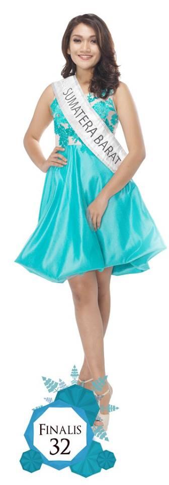 Annisa Astari Savira Lubis  is representing SUMATERA BARAT at Miss Indonesia 2016