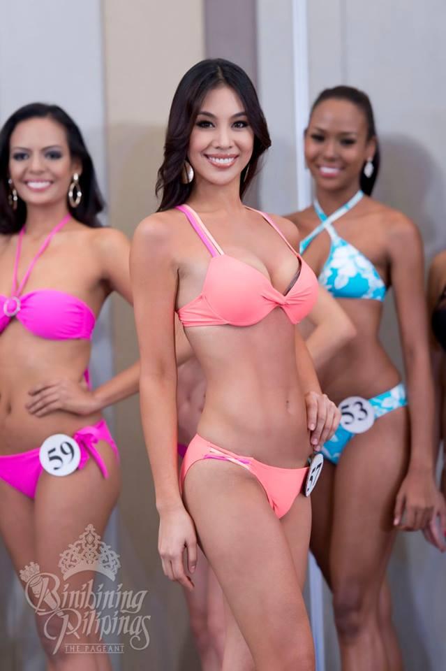 Dindi Pajares is a contestant of Binibining Pilipinas 2016