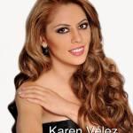 Karen Velez is a contestant at Miss Ecuador 2016