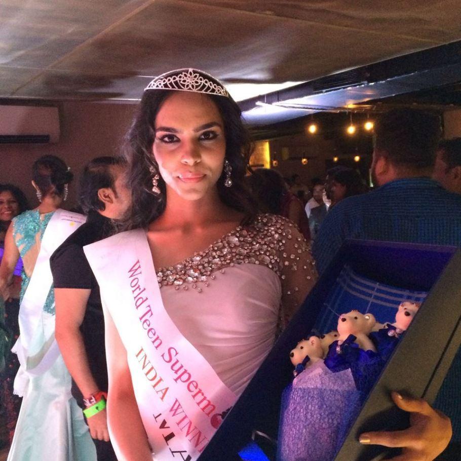 Mansi Kadian wins World Supermodel India Teen 2016