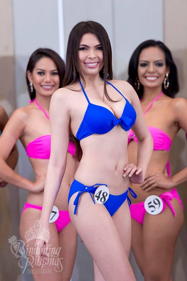 Priscilla Kim Dela Cruz is a contestant of Binibining Pilipinas 2016