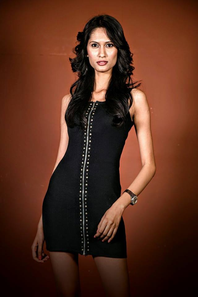 Sharon Alexander is a contestant at Femina Miss India Delhi 2016