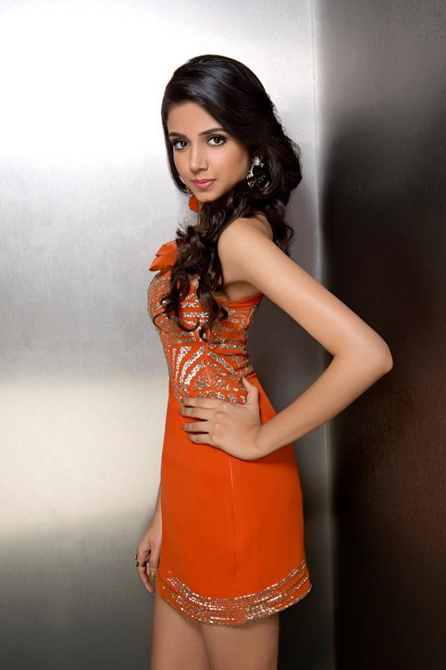 Shivangi Kapoor during Femina Miss India Delhi 2016 Glam Shots