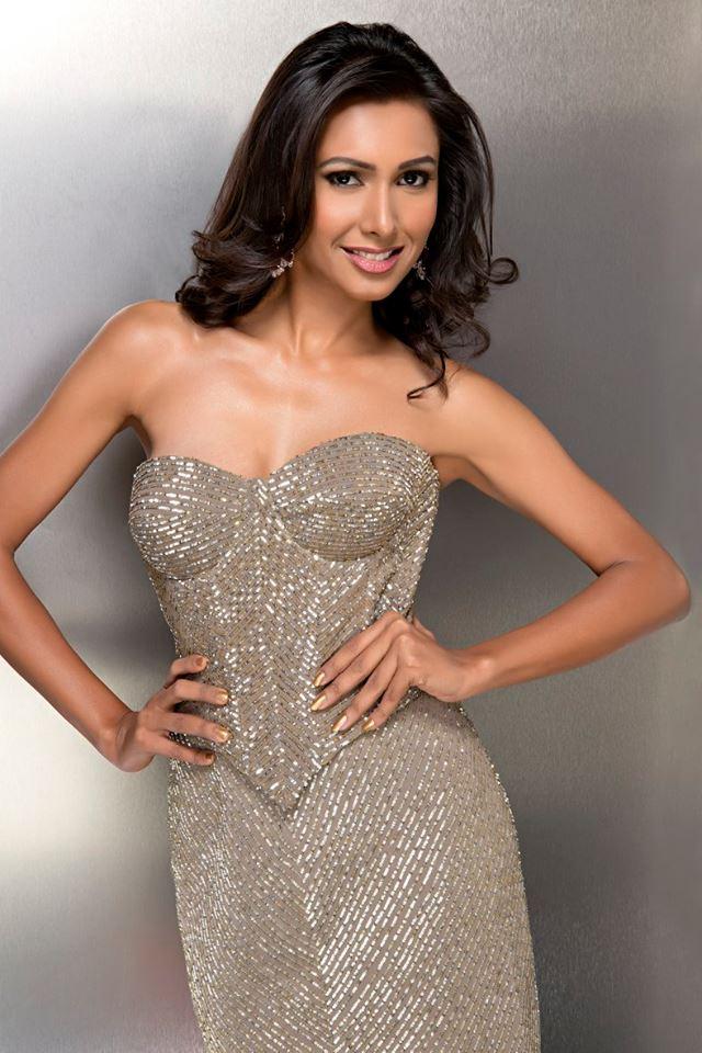 Soumya Saxena during Femina Miss India Delhi 2016 Glam Shots