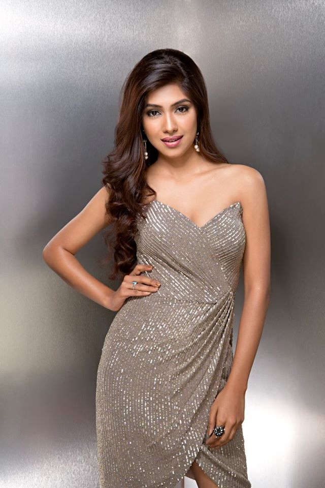 Vidushree during Femina Miss India Delhi 2016 Glam Shots