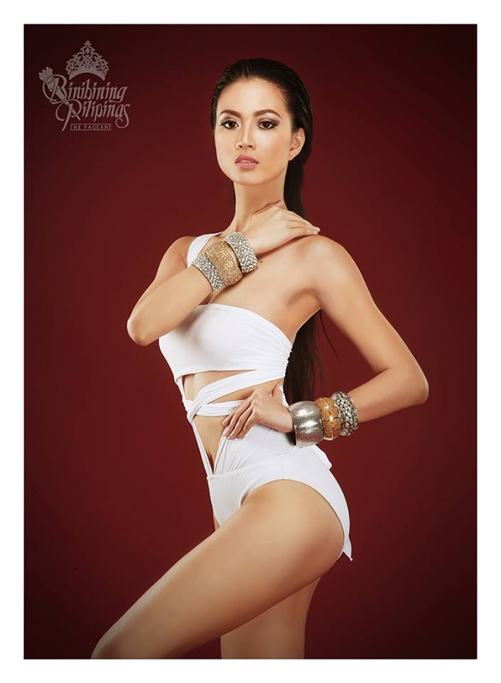 Binibini #10- JESLYN SANTOS during Binibining Pilipinas 2016 Swimsuit portraits
