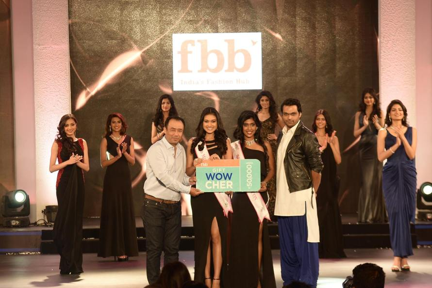 Aradhana Buragohain and Gayathri Reddy won fbb - fashion at Big Bazaar Miss Fashion Icon at Femina Miss India 2016 Sub Contest