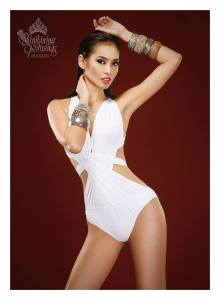 Binibini #14 PAULA RICH BARTOLOME during Binibining Pilipinas 2016 Swimsuit portraits