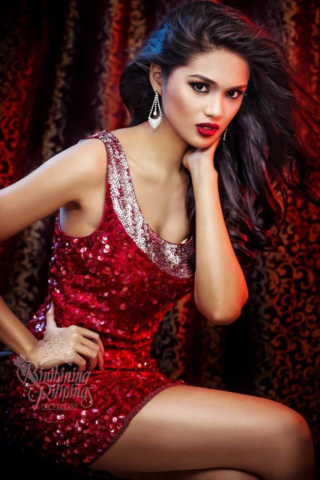 Binibini #15-KRISTINE ANGELI Q. ESTOQUE during Binibining Pilipinas 2016 Glam Shots